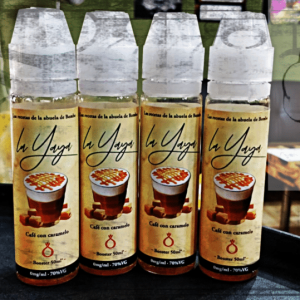 Liquido Café con Caramelo La Yaya - Bombo - 50 ml TPD tienda de Vapeo online