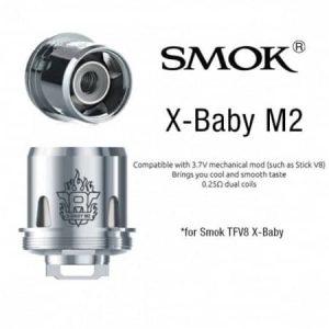 Resistencia V8 X Baby M 2 0,25 Ohm- Smok tienda de vapeo online