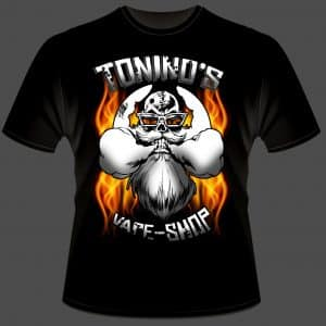 camiseta toninos tienda de vapeo online