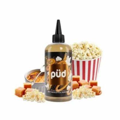 Butterscotch Popcorn Pud Joes Juice