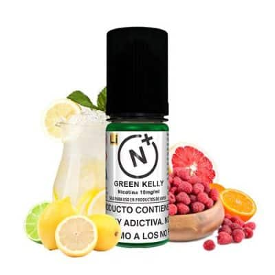 48748 7681 Nicotine Plus T Juice Green Kelly 10ml